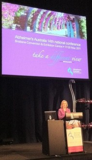 Ita Buttrose at Alzheimer's Australia Conference