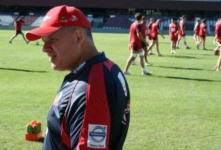 Queensland Reds coach Ewen McKenzie.