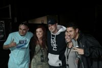 Bliss n Eso with VIP fans.