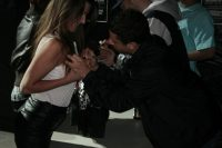 Girl getting signed