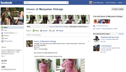 House of Maryanne- a Facebook shop
