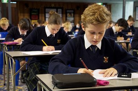 School kids will begin undertaking NAPLAN testing from tomorrow. Photo:  Scotch College Adelaide