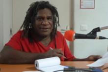 Djiido Radio news director, Romain Hmeun