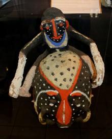 Traditional Vanuatu Sculpture. Picture by Jane Mahoney