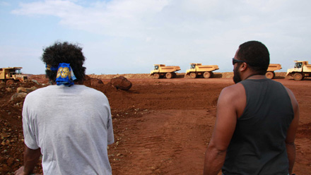 Mining in New Caledonia - still from the new documentary, Cap Bocage
