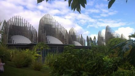 The Tjibaou Cultural Centre in Noumea, New Caledonia