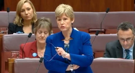 Christine Milne's quits as Greens leader.