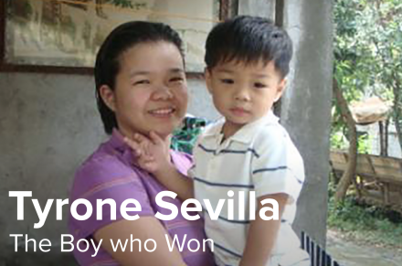 Tyrone Sevilla: The Boy who Won