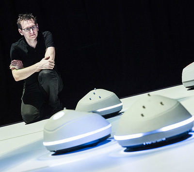 Christopher Lindinger is helping to create a level of communication between robots and humans.