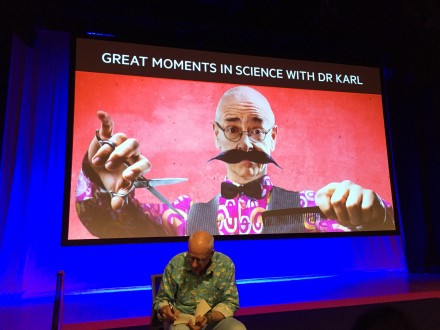 Dr Karl delivered the scientific truth on Friday evening.