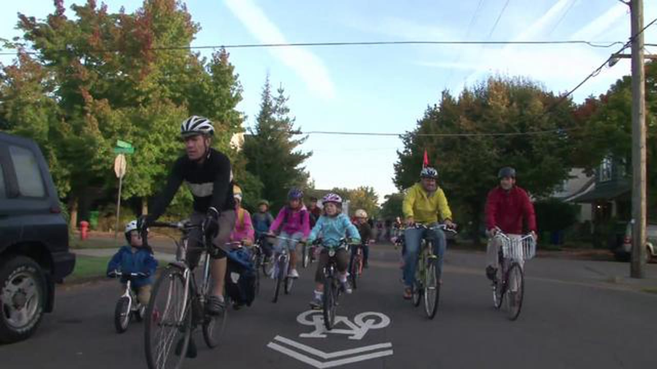 Cyclists would be among those who benefit from lower speed limits. Source: Vimeo