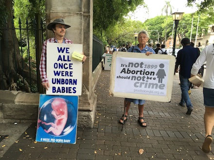 Abortion Rally 10th May 2016