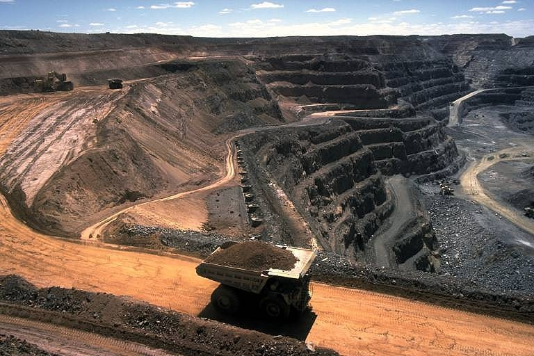 Black lung can affect miners in both open cut and underground mines. Source: Creative Commons
