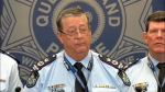 Qld police commissioner Ian Stewart