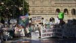 QUT News - Adani protest
