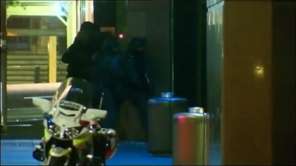 QUT TV Lindt police