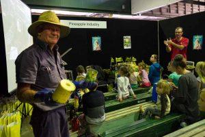 Pineapple farmer Chris Doyle