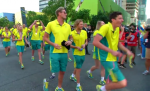 Games parade in Brisbane.