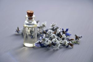 Essential oils such as lavendar are commonly used in hygiene and cosmetic products.
