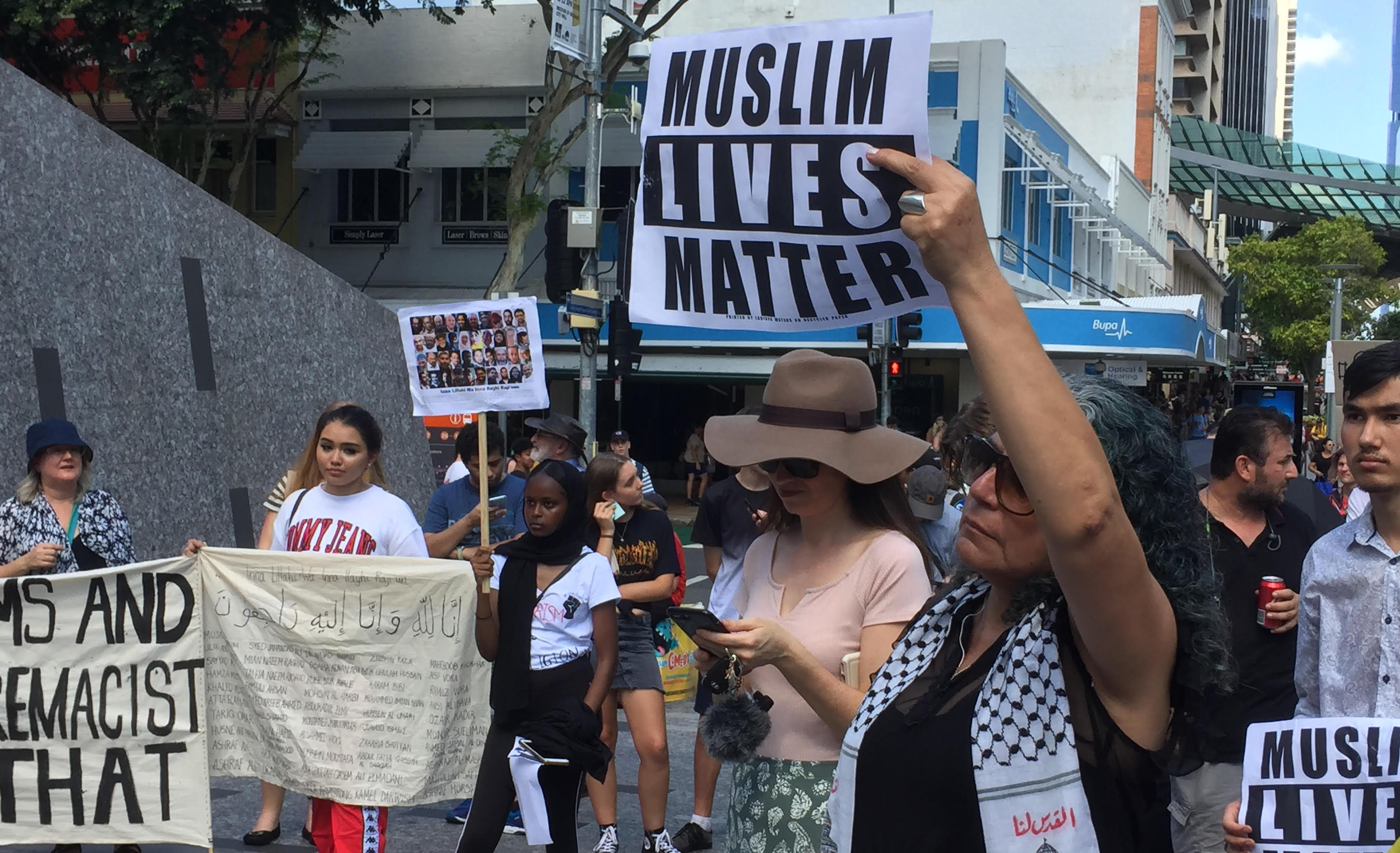 'Muslim Lives Matter' protest – unification after Christchurch terror attacks