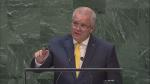 Scott Morrison at the UN