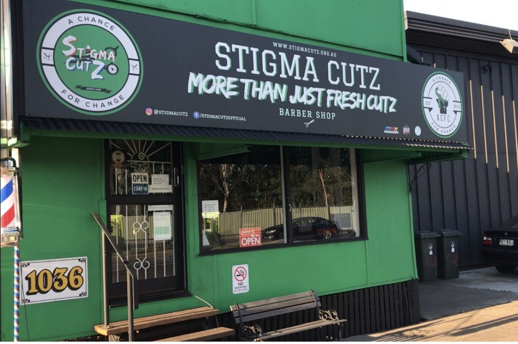 Stigma Cutz can be found at 1036 Stanley St E, Coorparoo QLD.